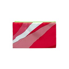 Pink abstraction Cosmetic Bag (XS)