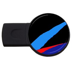 Colorful abstraction USB Flash Drive Round (2 GB)