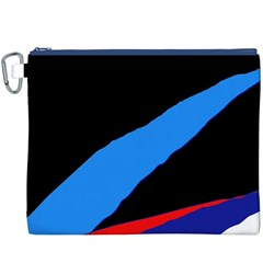 Colorful abstraction Canvas Cosmetic Bag (XXXL)