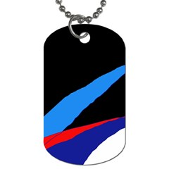 Colorful abstraction Dog Tag (Two Sides)