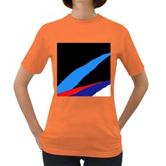 Colorful abstraction Women s Dark T-Shirt
