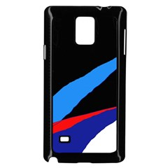 Colorful abstraction Samsung Galaxy Note 4 Case (Black)