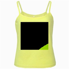 Green ball Yellow Spaghetti Tank