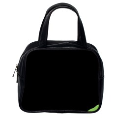 Green ball Classic Handbags (One Side)