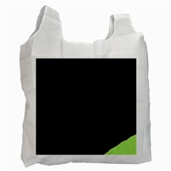 Green ball Recycle Bag (One Side)