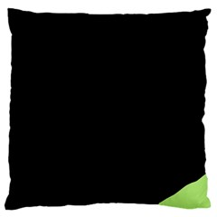 Green ball Large Cushion Case (One Side)