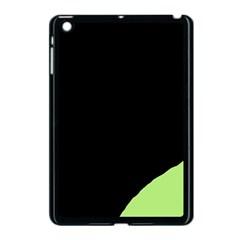 Green ball Apple iPad Mini Case (Black)