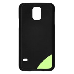 Green ball Samsung Galaxy S5 Case (Black)