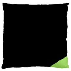 Green ball Standard Flano Cushion Case (Two Sides)