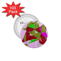 Flora abstraction 1.75  Buttons (100 pack)