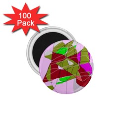 Flora abstraction 1.75  Magnets (100 pack)