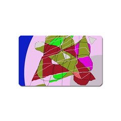 Flora abstraction Magnet (Name Card)