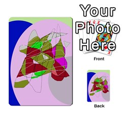 Flora abstraction Multi-purpose Cards (Rectangle)