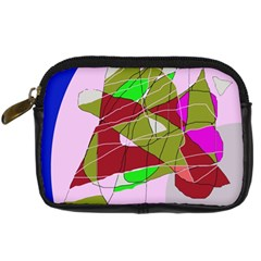 Flora abstraction Digital Camera Cases