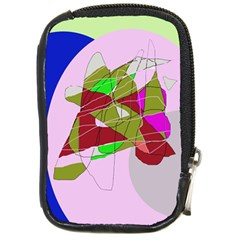 Flora abstraction Compact Camera Cases