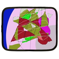 Flora abstraction Netbook Case (XL)