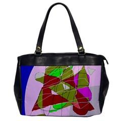 Flora abstraction Office Handbags
