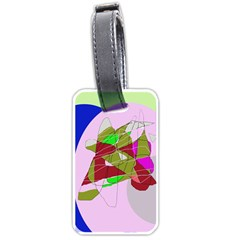 Flora abstraction Luggage Tags (One Side)