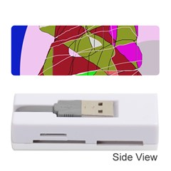 Flora abstraction Memory Card Reader (Stick)