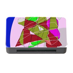 Flora abstraction Memory Card Reader with CF