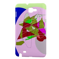 Flora abstraction Samsung Galaxy Note 1 Hardshell Case