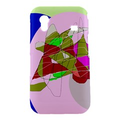Flora abstraction Samsung Galaxy Ace S5830 Hardshell Case
