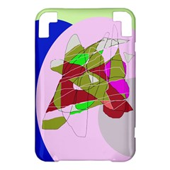Flora abstraction Kindle 3 Keyboard 3G