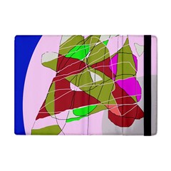 Flora abstraction Apple iPad Mini Flip Case