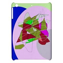Flora abstraction Apple iPad Mini Hardshell Case