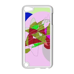 Flora abstraction Apple iPod Touch 5 Case (White)
