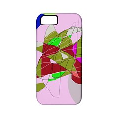 Flora abstraction Apple iPhone 5 Classic Hardshell Case (PC+Silicone)