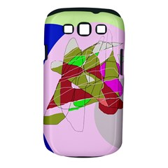 Flora abstraction Samsung Galaxy S III Classic Hardshell Case (PC+Silicone)