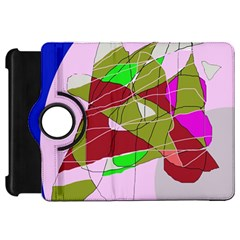 Flora abstraction Kindle Fire HD Flip 360 Case