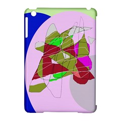 Flora abstraction Apple iPad Mini Hardshell Case (Compatible with Smart Cover)