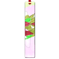 Flora abstraction Large Book Marks