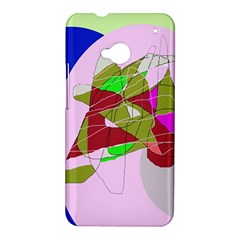 Flora abstraction HTC One M7 Hardshell Case