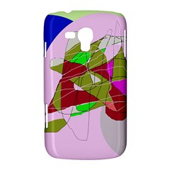 Flora abstraction Samsung Galaxy Duos I8262 Hardshell Case