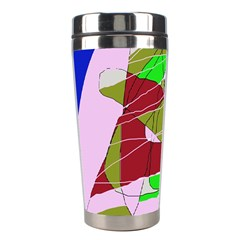 Flora abstraction Stainless Steel Travel Tumblers