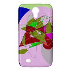 Flora abstraction Samsung Galaxy Mega 6.3  I9200 Hardshell Case