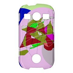 Flora abstraction Samsung Galaxy S7710 Xcover 2 Hardshell Case