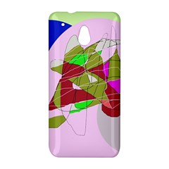 Flora abstraction HTC One Mini (601e) M4 Hardshell Case