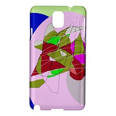 Flora abstraction Samsung Galaxy Note 3 N9005 Hardshell Case