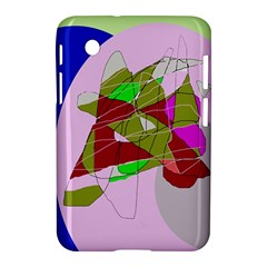 Flora abstraction Samsung Galaxy Tab 2 (7 ) P3100 Hardshell Case