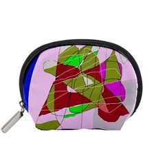 Flora abstraction Accessory Pouches (Small)