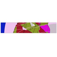 Flora abstraction Flano Scarf (Large)