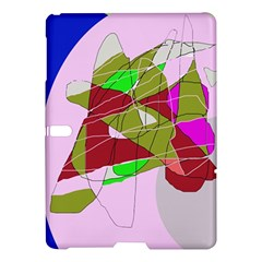 Flora abstraction Samsung Galaxy Tab S (10.5 ) Hardshell Case