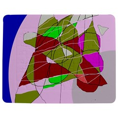 Flora abstraction Jigsaw Puzzle Photo Stand (Rectangular)