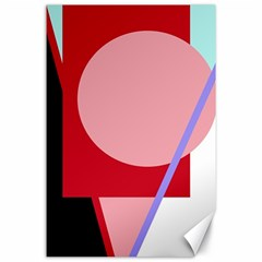 Decorative geomeric abstraction Canvas 24  x 36