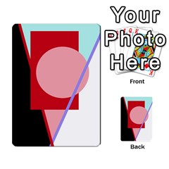 Decorative geomeric abstraction Multi-purpose Cards (Rectangle)