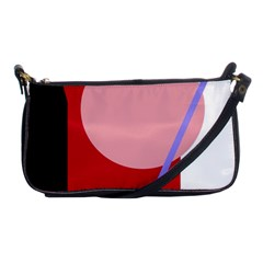 Decorative geomeric abstraction Shoulder Clutch Bags